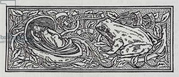 Hans Christian Andersen: Thumbelina (litho)