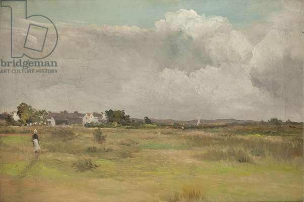 Sulby Claddagh (oil on canvas)
