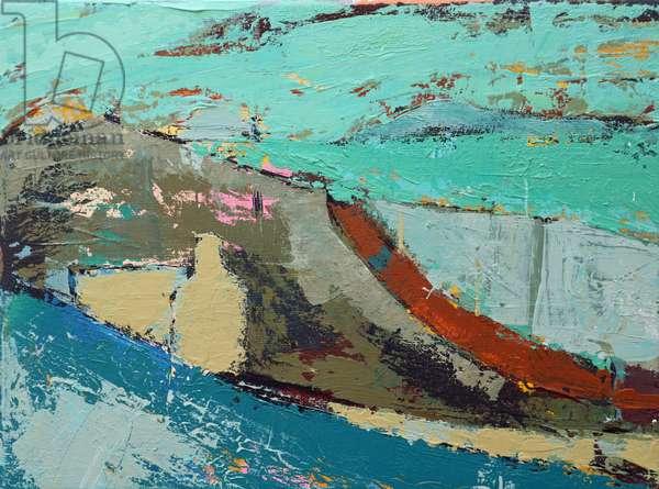 Pathway (acrylic on canvas)