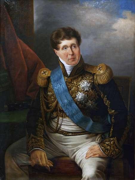 The Marechal Victor, Duke of Bellune, c.1823-40 (oil on canvas)