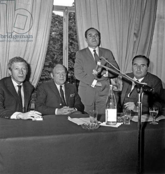 Lucien Morisse Maurice Siegel Roger Kreicher et Jean Farran