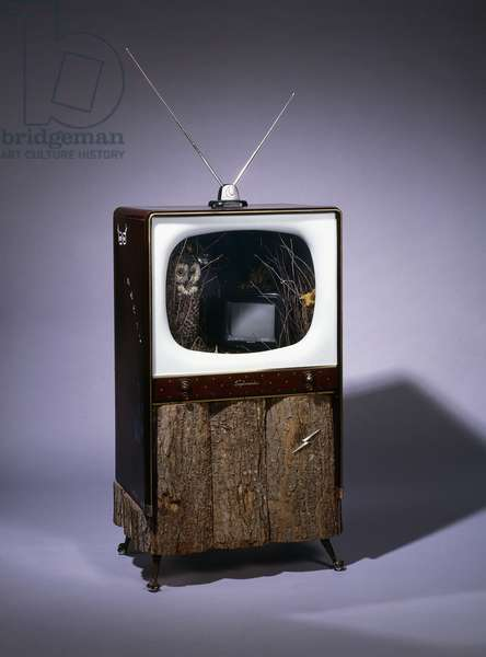 Late, Late Show, 1987 (television sets, alarm clock, video recorder and videotape, stuf)