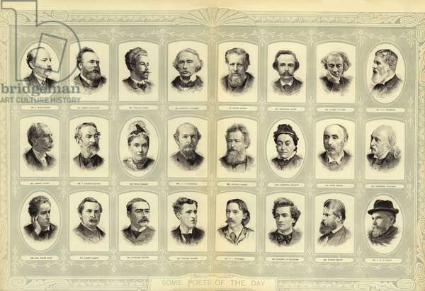 Some Poets of the Day (engraving)