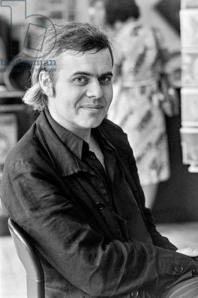 Switzerland Art Hr Giger, 1977 (b/w photo)