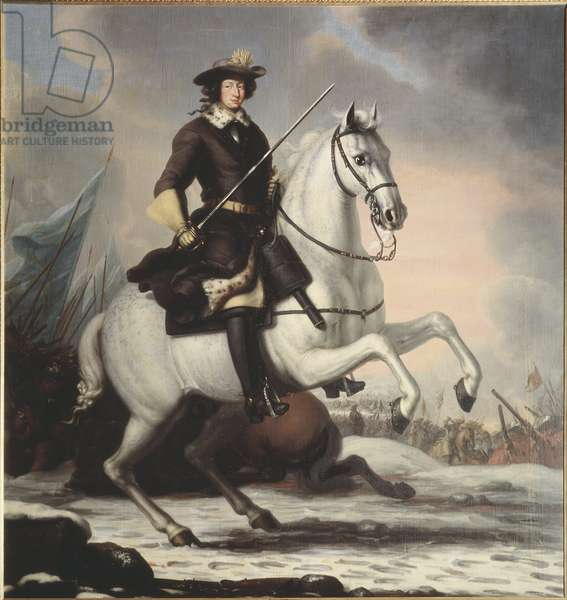 King Karl XI, 1676 (oil on canvas)