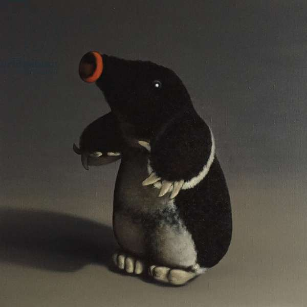 Mole, 2017, (oil on canvas)