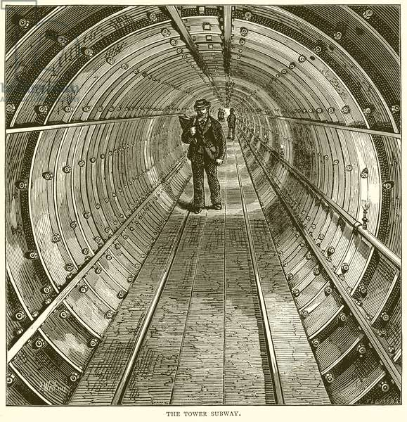 The Tower Subway (engraving)