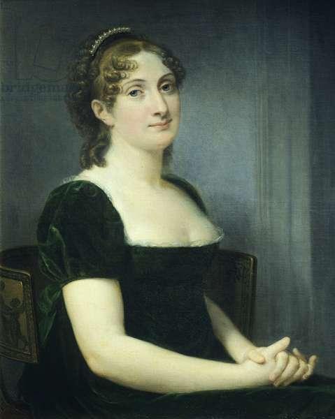 Countess Anna Maria Porro Lambertenghi Serbelloni, 1811, by Andrea Appiani (1754-1817), Oil on canvas, 74.5x60 cm
