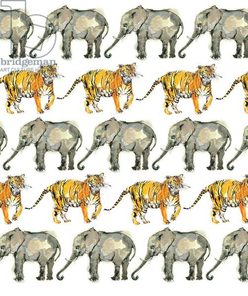 Elephant and Tiger Repeat