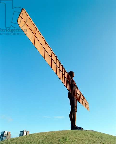 Antony Gormley's Angel of the North, Gateshead, Tyne and Wear, UK (photo)