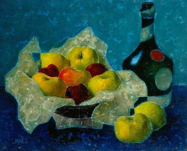 Still Life – Benedictine Bottle, 1934 (oil on canvas)