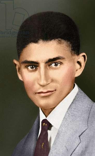 Portrait of Franz Kafka, (1883 – 1924) (photo)