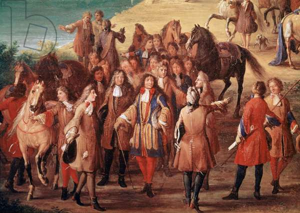Louis XIV Surrounded By Courtiers (painting)