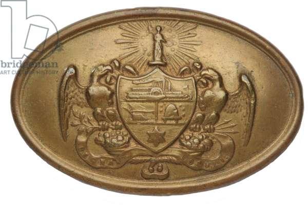Civil War Arkansas Belt Plate