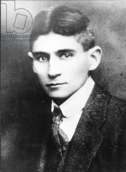 Franz Kafka, Czech Author.