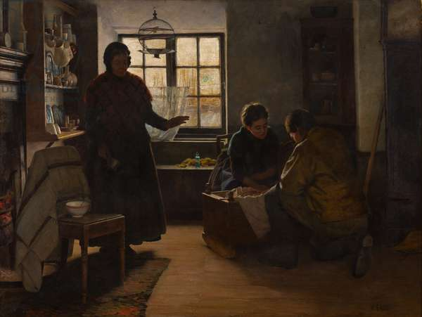 Where There's Life, There's Hope, 1890 (oil on canvas)