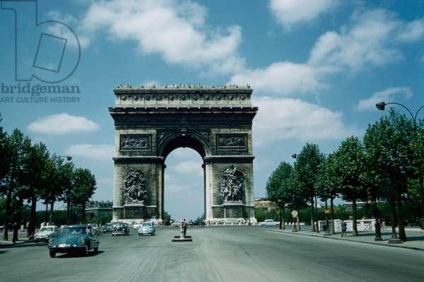 Arc de Triomphe, Paris, France, 1961