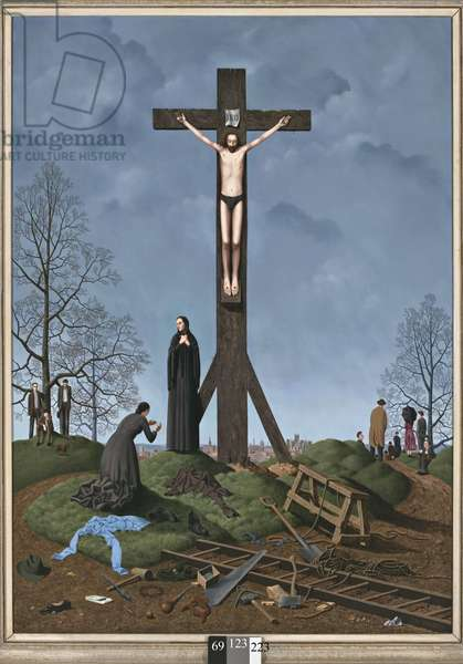 The Crucifixion, 1954 (oil on canvas)