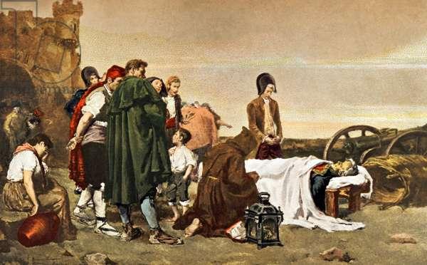Death of Mariano Alvarez de Castro (1749-1810).