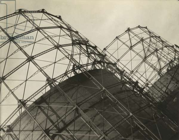 Gas towers, 11th Avenue, NYC, New York, USA, c.1920-38 (gelatin silver photo)