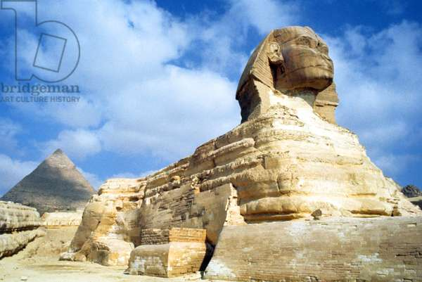 The Great Sphinx of Giza, 1754