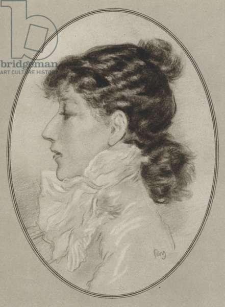 Sarah Bernhardt (litho)