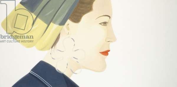 Ursula in White, 1988 (oil on canvas)
