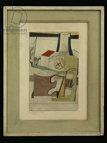 Carbis Bay, 1945 (oil on card)