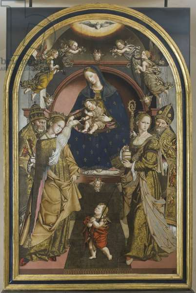 Mystic Marriage of Saint Catherine of Alexandria