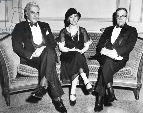 Speakers at the 6th Annual Foreign Affairs Institute, Cleveland, Ohio, Feb. 19, 1932.
