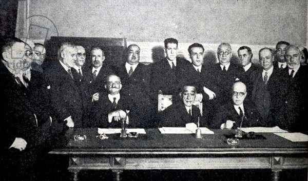 Spanish civil war: The agrarian minority