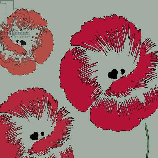 Picnic Poppy, 2005 (digital)