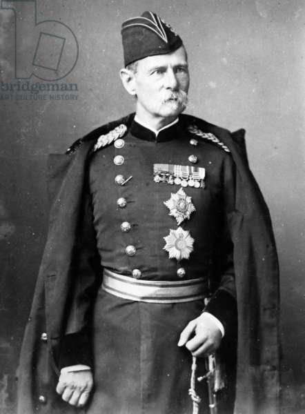 Lord Roberts of Kandahar, c.1880s (b/w photo)