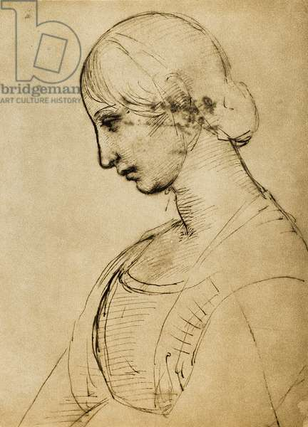 Study for a Magdalene; drawing by Raphael. Gabinetto dei Disegni e delle Stampe, Uffizi Gallery, Florence