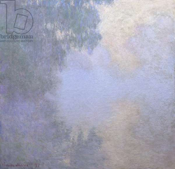 Branch of the Seine near Giverny (Mist), from the series Mornings on the Seine, 1897 (oil on canvas)