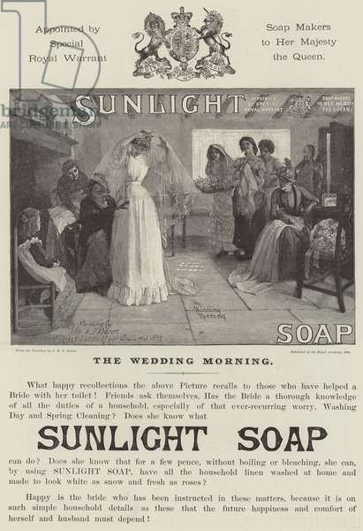 Advertisement, Sunlight Soap (engraving)