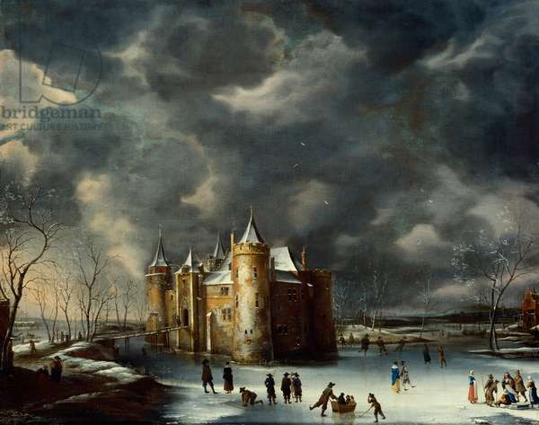 Muiden Castle in Winter