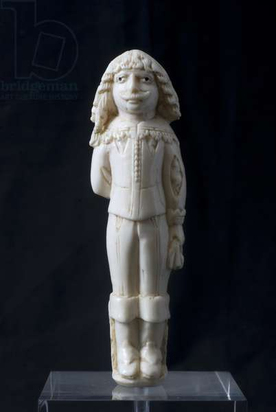 Male figure (ivory, carving)