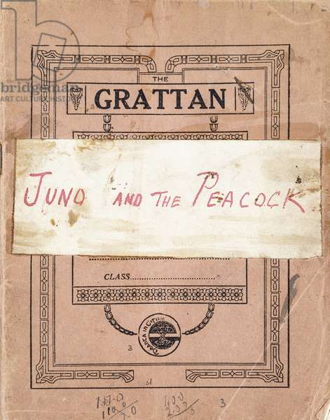 Autographed Manuscript of 'Juno and the Paycock', 1923 (manuscript in ink with pencil notations)