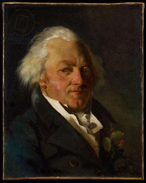 Portrait of Simeon Bonnesoeur-Bourginiere, c.1812-15 (oil on canvas)