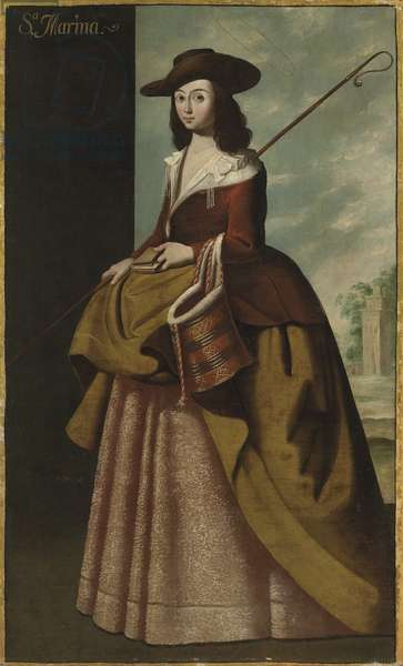 St. Margaret of Antioch, 1656 (oil on canvas)