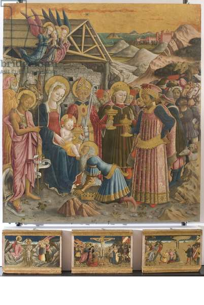 Polyptych, 1465-66 (board, tempera painting)