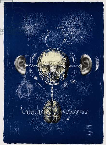Dreaming Voices 3, 2012, (lithograph)