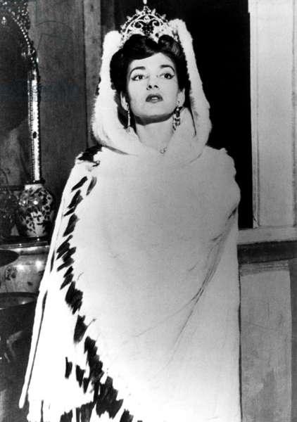 Maria Callas, c.early 1970s