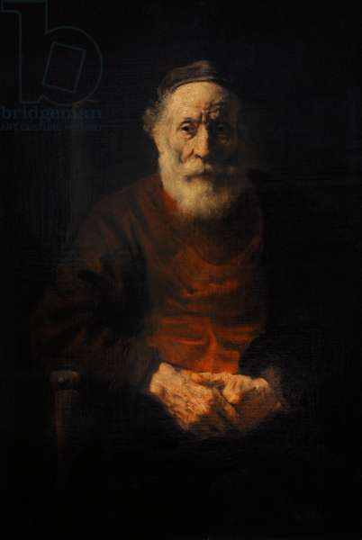 Rembrandt Harmenszoon van Rijn (1606-1669). Portrait of an Old Man in Red, Ca. 1652-1654.