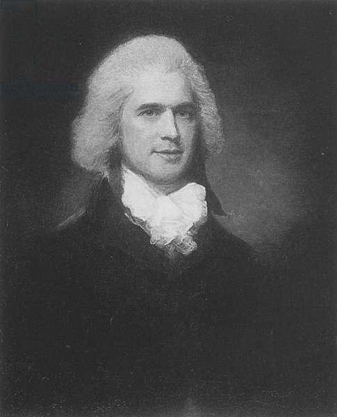 Portrait of George Atkinson (litho)