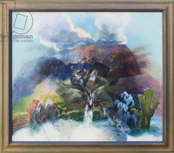 The Song of the Earth IV, 2003 (oil on canvas)
