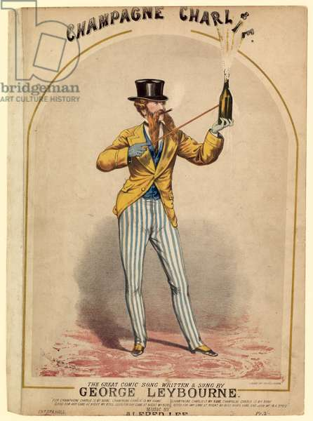 Champagne Charlie is my name! (colour litho)