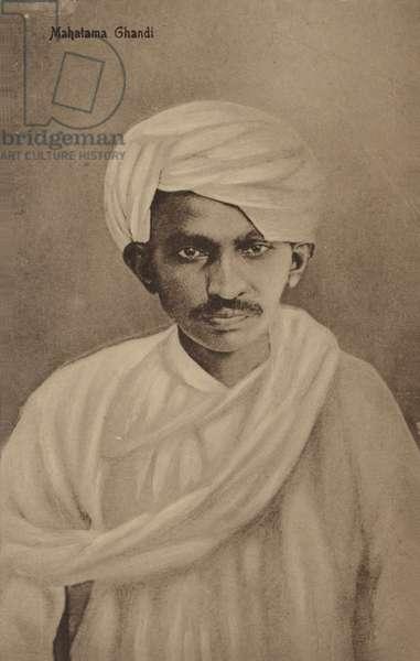Mahatma Gandhi (litho)