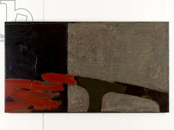 The Dynasty of Colours: Bury The Hatchet, 2008 (oil, lacquer & juste on wood)